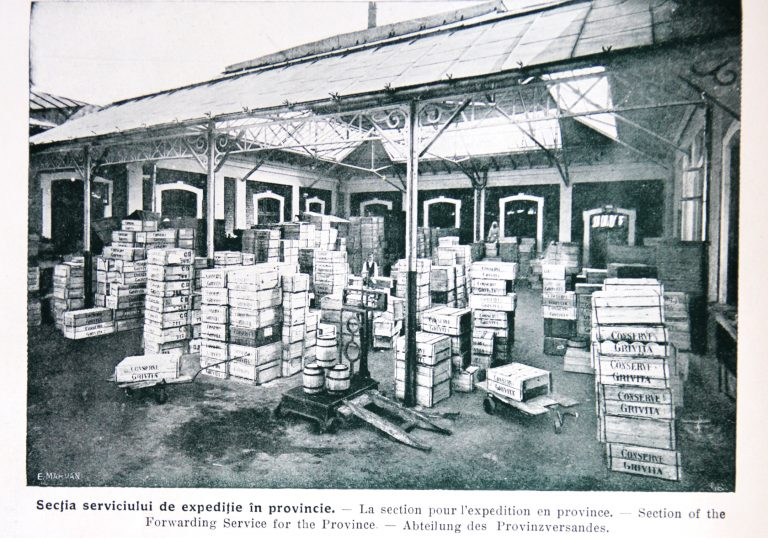 Fosta fabrică de conserve Grivița